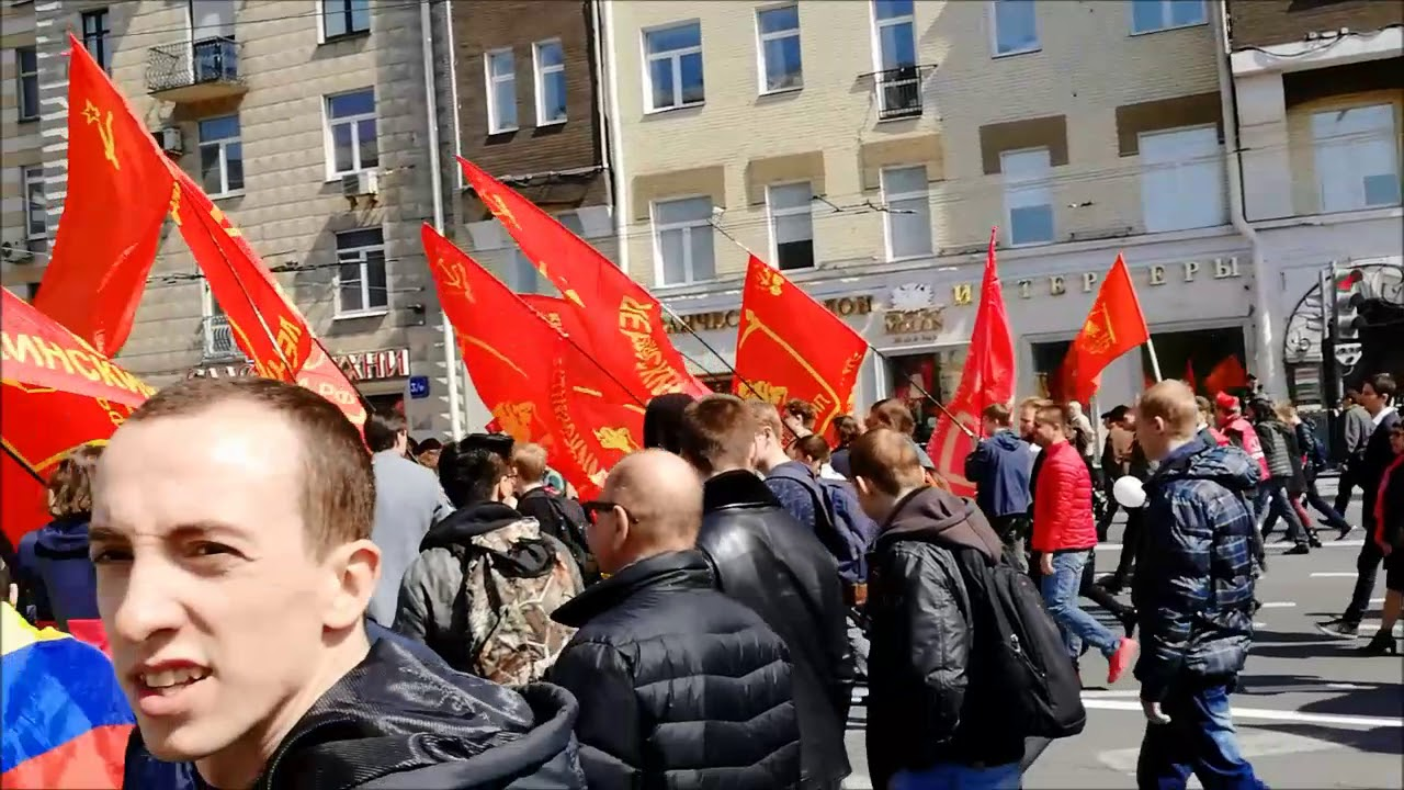 Первомай-2019 в Москве