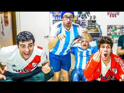 Racing vs River | Octavos - Copa Libertadores 2018 | Reacciones de Amigos