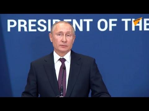 LIVE: Vladimir Putin and Serbian President Aleksandar Vucic Meeting in Belgrade