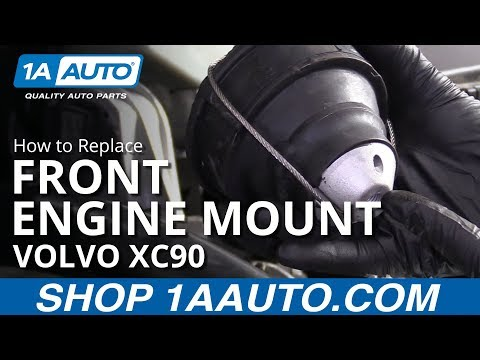 How to Replace Front Engine Mount 03-12 Volvo XC90