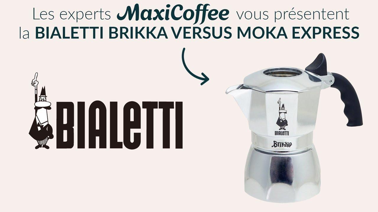 Moka Brikka Le ExpressCafetière Maxicoffee Italienne Test Bialetti Versus QrEdxBeoWC