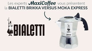 bialetti brikka versus bialetti moka express cafetiere italienne le test maxicoffee