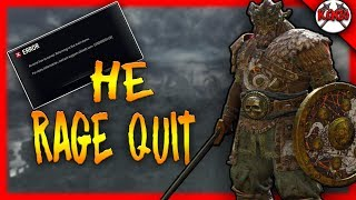 HE RAGE QUIT AND LAGGED THE WHOLE LOBBY! Rep 15 Warlord Gameplay