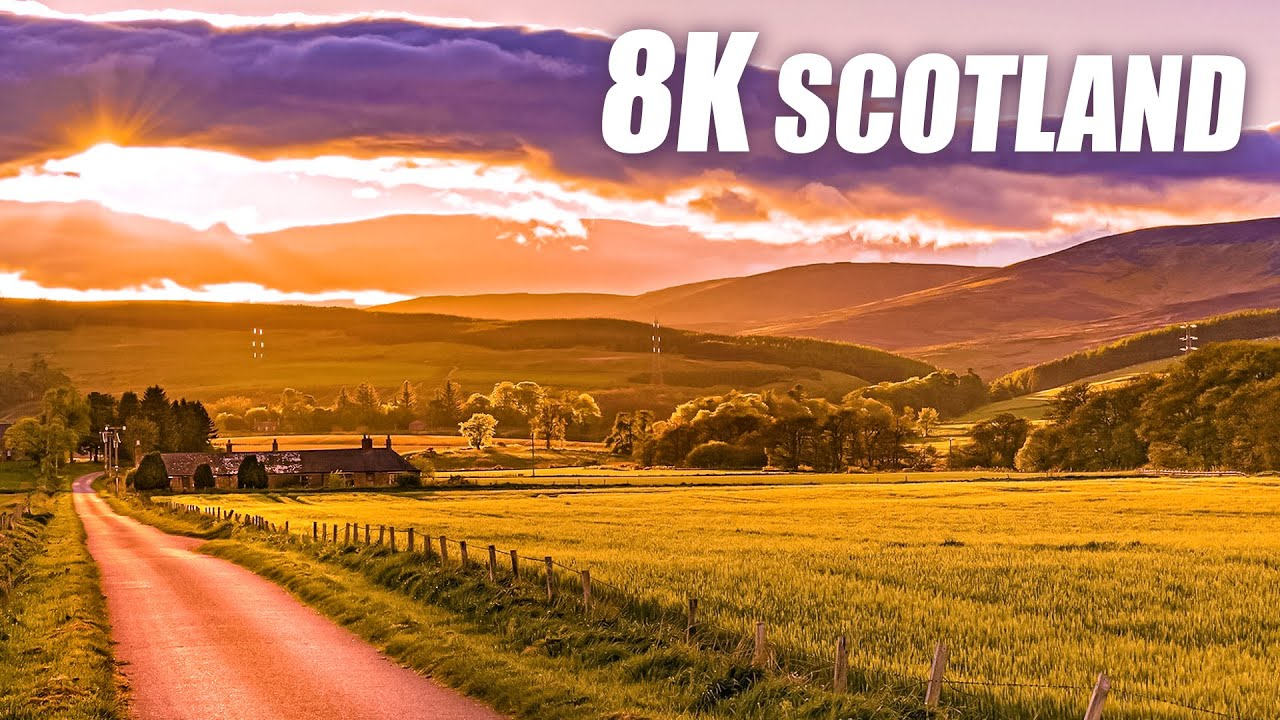The Beauty of Scotland in 8K HDR 60FPS ULTRA HD