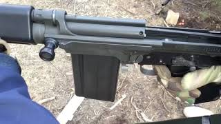 DS Arms FAL with no top cover