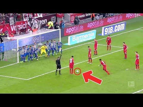 Die kuriosesten Standard-Situationen der Fußball-Geschichte
