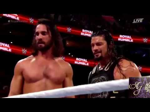 Yaar yaaro nanban endru - Seth rollins at royal rumble 2018