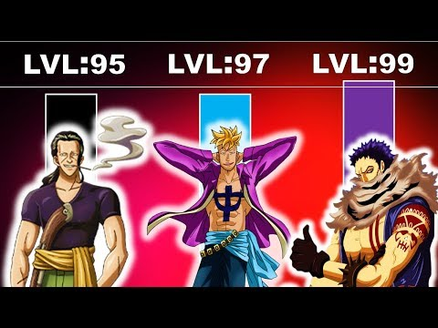 One Piece - The YONKO Strongest Commander POWER Traits   Power Level