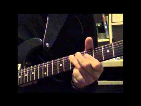 Funk Blues Rhythm Lesson CAGED Dominant 7th Chord One on One