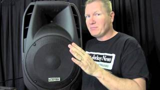 American Audio ELS15A Review by John Young of the Disc Jockey News