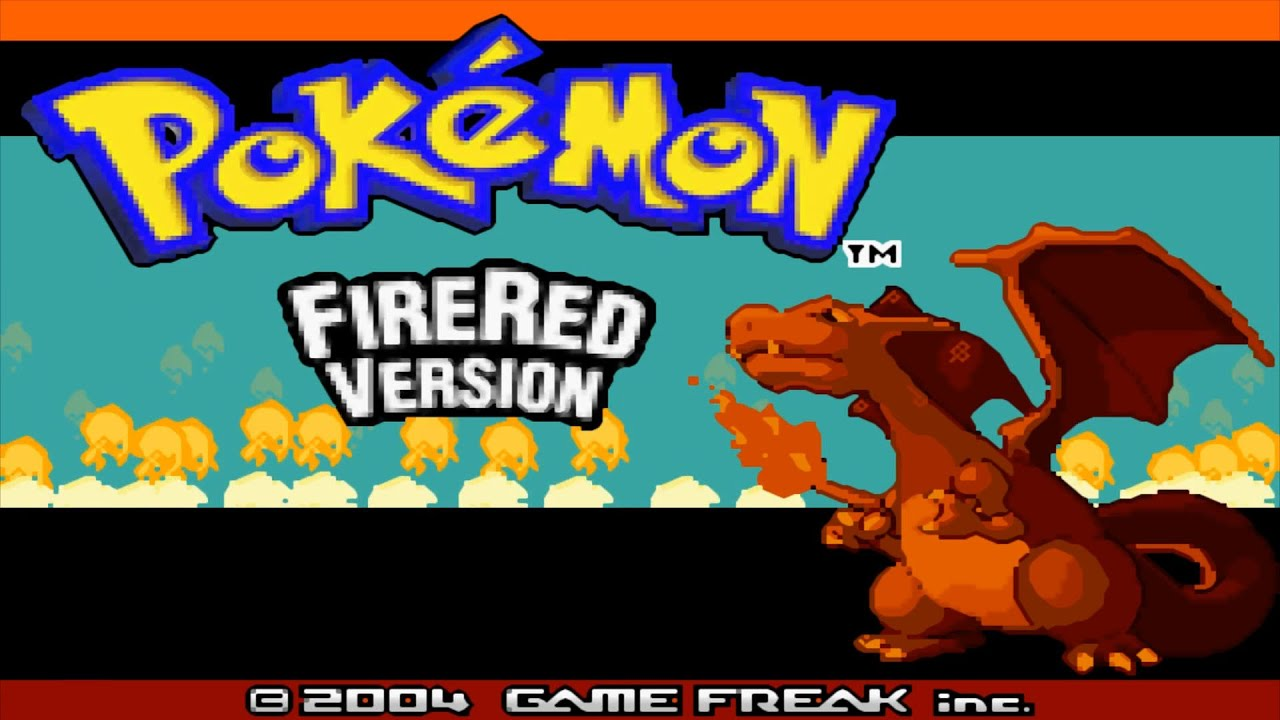pokemon fire red rom