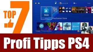 7 Profi Tipps für PS4 (Tipps & Trİcks für die PlayStation 4)
