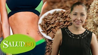 Linaza molida para adelgazar (flaxseed diet) | Tips para bajar de peso | Salud180