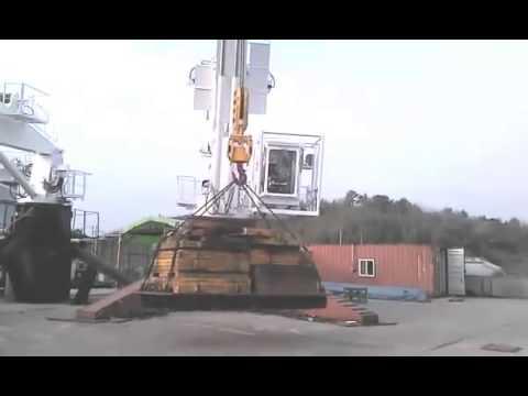 Offshore Crane Load Testing by caltav.com