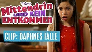 MITTENDRIN UND KEIN ENTKOMMEN - Clip: Daphnes Falle | Disney Channel