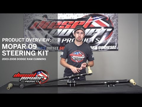 Product Overview: Mopar 09 Steering Kit - 03-08 Dodge 2500/3500