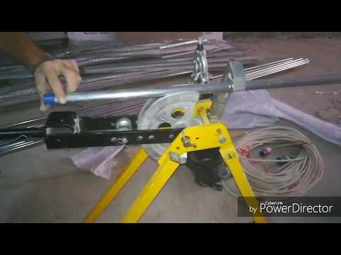 Electrical Gi conduit (open piping) Dubai Electrician