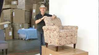 Angelo:home At The Warehouse   Harlow Arm Chairs