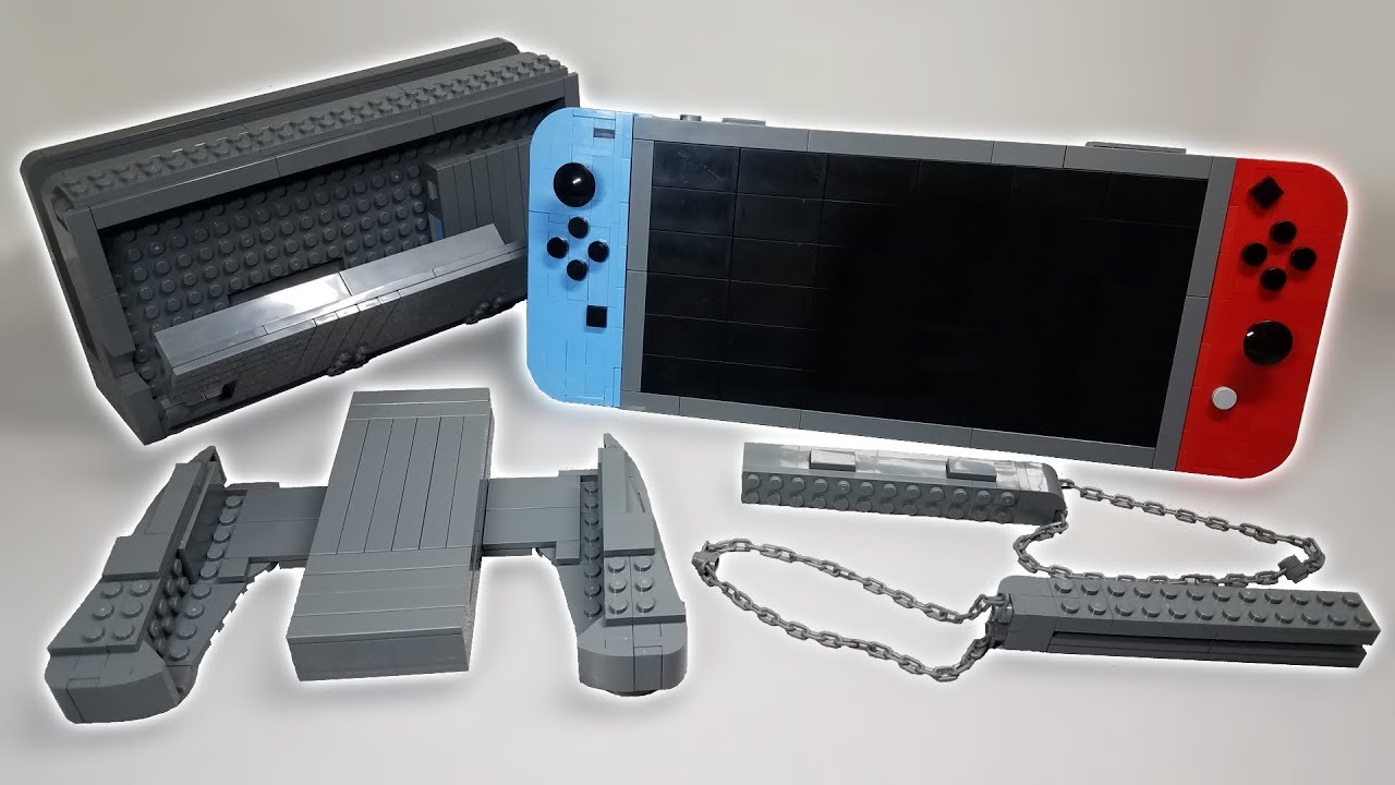 Realistic Lego Nintendo Switch Moc Youtube