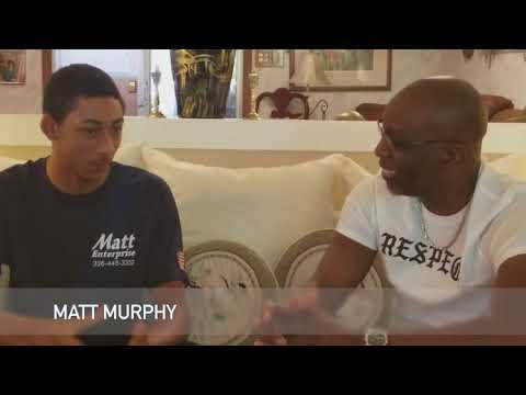 Busta Brown interviews 17-year-old Matt Murphy IV, CEO of Matt Enterprise for The Chronicle