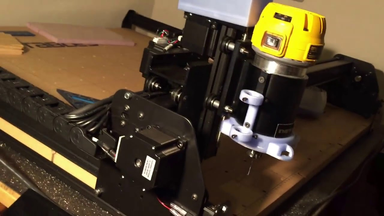 X Carve X Controller w Integrated Raspberry Pi CNC js - YouTube