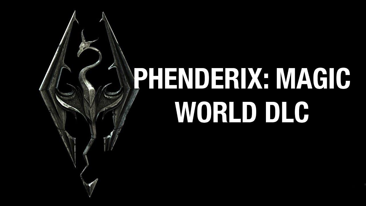 Skyrim SE Xbox mods Phenderix: Magic world DLC