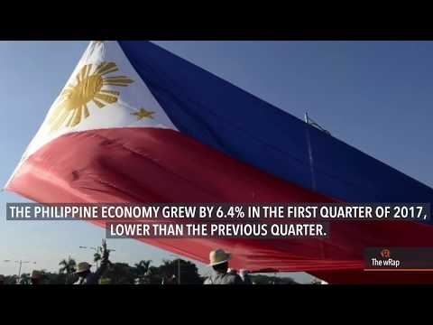 PH economy grows slower by 6.4% in Q1