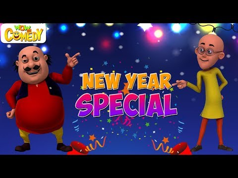 Motu Patlu | Cartoon in Hindi | New Year Special  | 3D Animated Cartoon Series for Kids thumbnail