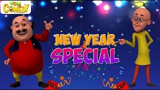 Motu Patlu | Cartoon in Hindi | Silvester-Special | 3D-Animierte Cartoon-Serie für Kinder