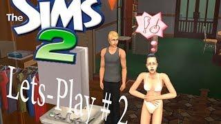 Давайте играть  с девушкой в  the Sims #2