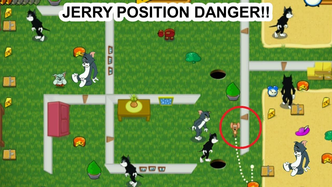 Tom & Jerry - Satu Tikus VS Lima Kucing - Gameplay Part 6