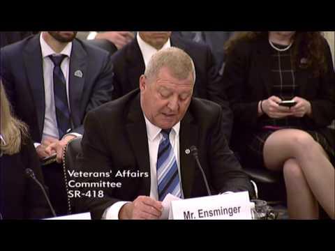 Jerry Ensminger Testifies Before Senate Veterans Affairs Committee