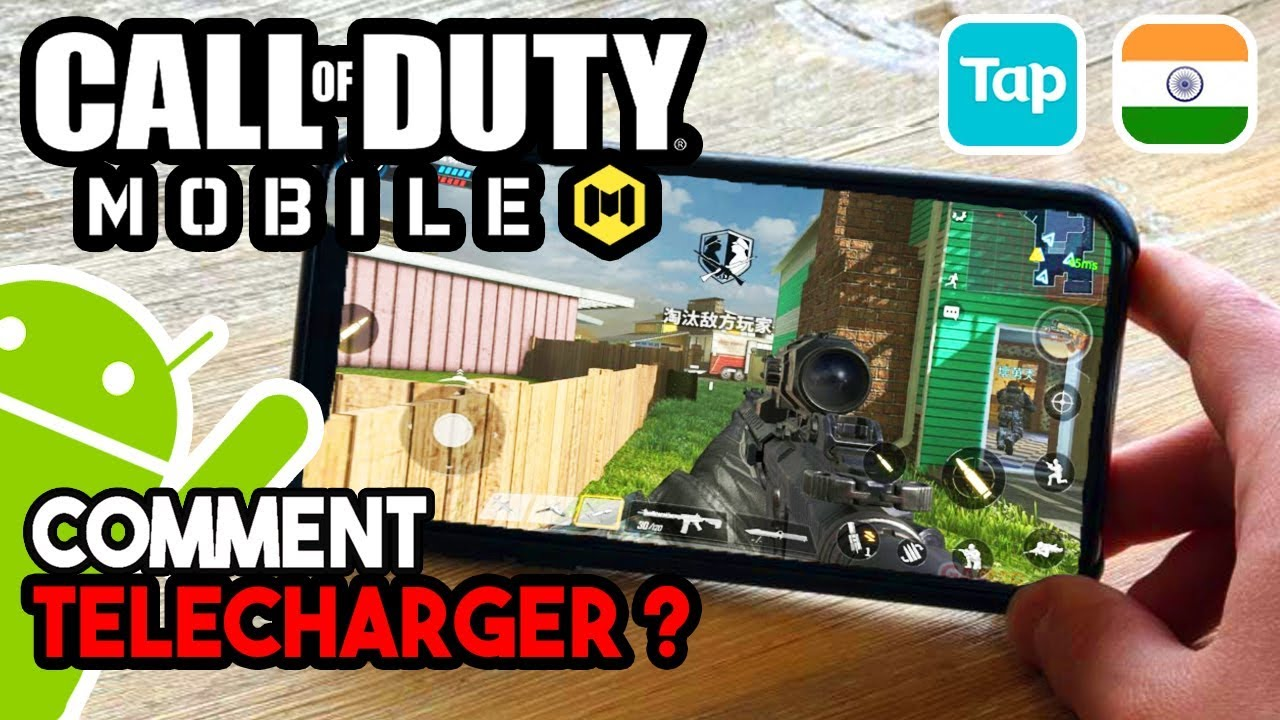 Comment Télécharger / Installer Call of Duty Mobile Android (Tap Tap Apk Uptodown VPN Gratuit FREE)  #Smartphone #Android