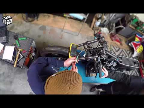 Café racer - Construction du café racer partie 3