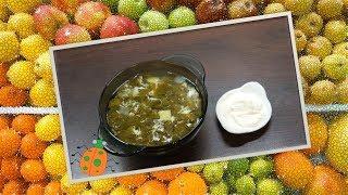 Рецепт №28. Щавелевый суп с яйцом