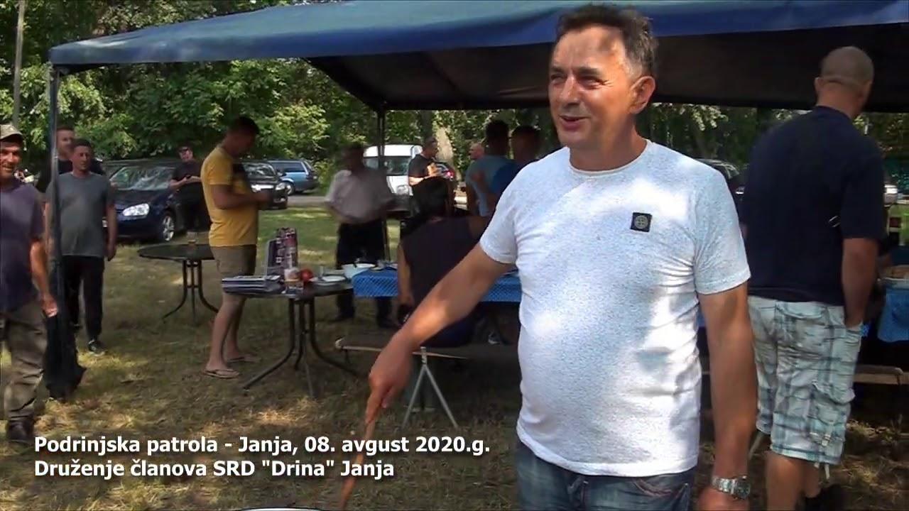 """SRD """"DRINA"""" Janja - Druženje 8. avgusta 2020.g."""