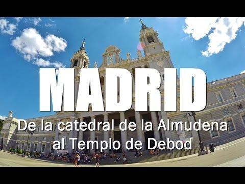 MADRID (3/3) Catedral de la Almudena, palacio Real y templo Debod