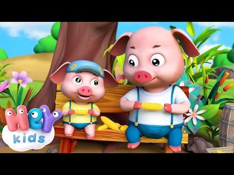 Песенки для детей - Поросенок и кукуруза - Мультики для детей