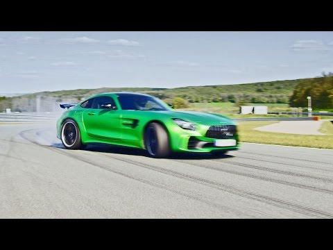 "2017 Mercedes-AMG GT R ""Hulk on Wheels"" on Racetrack"