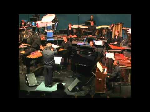 Percussion Symphony, Movement II by Charles Wuorinen - Peter Jarvis, Conductor