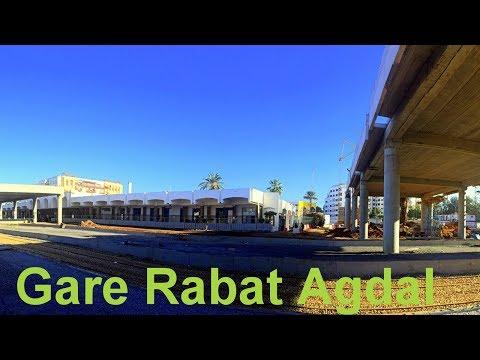 Gare Rabat Agdal  2018  محطة الرباط أكدال الجديدة