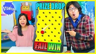 PRIZE DROP CHALLENGE FAIL OR WIN RYAN'S WORLD ROAP TRIP!!!!