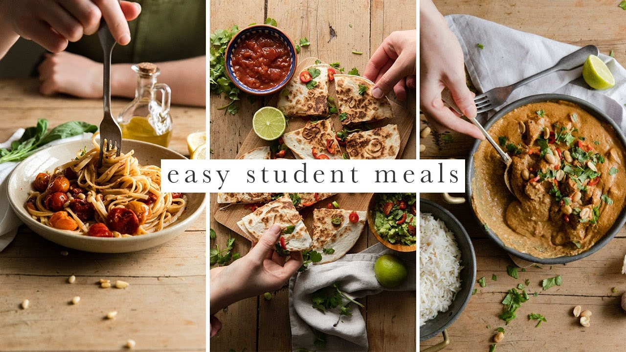 Simple Vegan Student Meals | Budget & Beginner Friendly