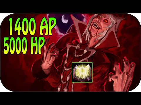 1400 AP + 5000 HP - Full Ap Vladimir Gameplay [ger]