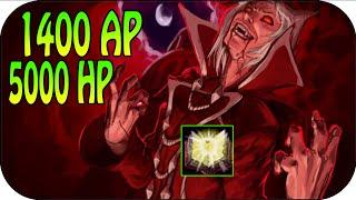 1400 AP + 5000 HP - Full Ap Vladimir Gameplay [ger]