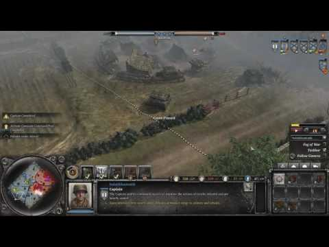 Company of Heroes 2- Pershing Graveyard
