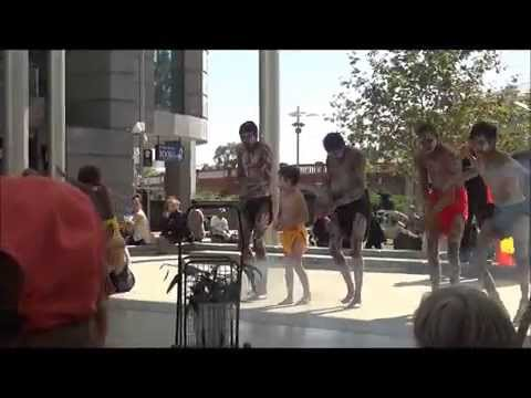 Indigenous Dance – Noongar Youths Perform One Of Their Traditional Dances In Perth City thumbnail