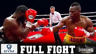 ADONIS STEVENSON VS. DARNELL BOONE II | FULL FIGHT |