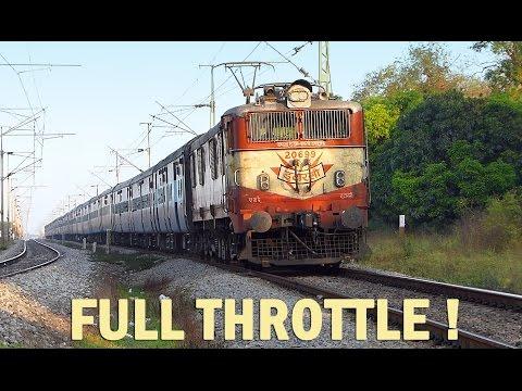 TRAIN Engine at Full Throttle : Oldest Electric Locomotive Indian Railways