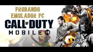 PROBANDO CALL OF DUTY MOBILE EN EMULADOR DE PC,PARTIDAZAS Y FAILS POR IGUAL